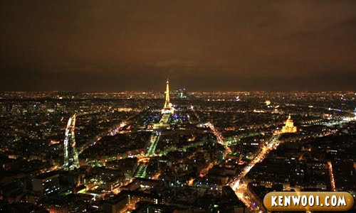 paris montparnesse tower view