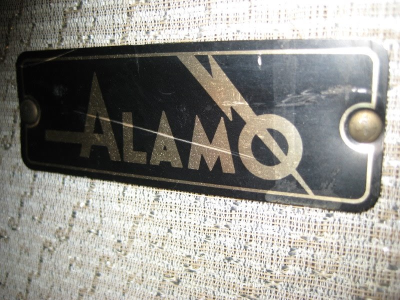 The Stereo Club: The Alamo Jet Guitar Amp on