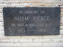 Memorial plaque in Anchor Bay, CA