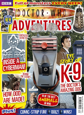 BBC DOCTOR WHO ADVENTURES MAGAZINE  Issue 19 Dalek  trainer bag