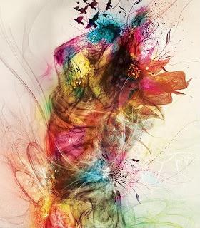 spalvos, grožis, spalvų grožis