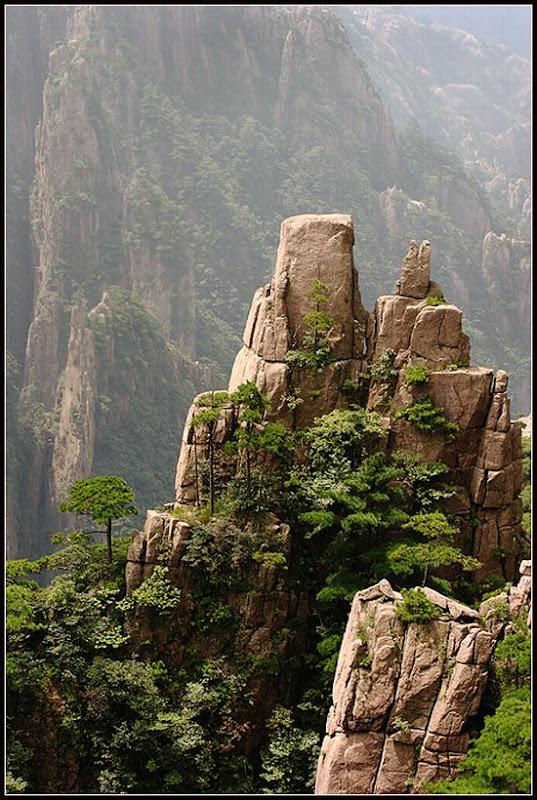 As montanhas chinesas do filme Avatar