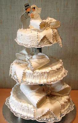 tartas de boda divertidas