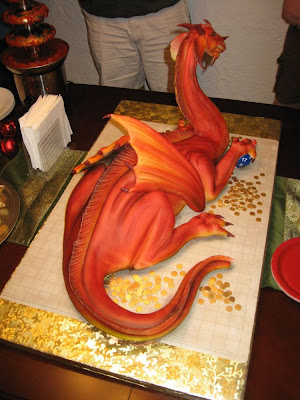 Fresh Pics Dragon Cake