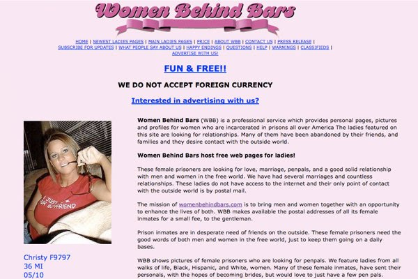 free dating websites for inmates