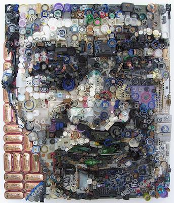 Retratos de lixo por Freeman Zac 7
