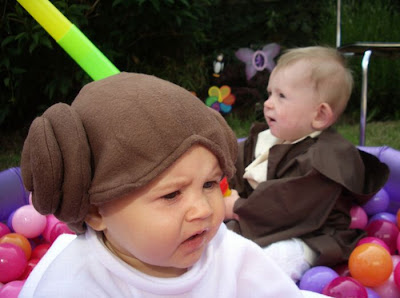 Bebés mascarados 9