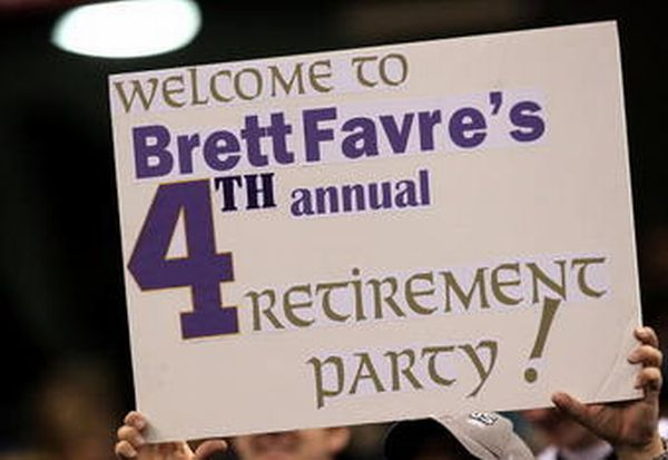 Brett Favre Funny Quotes: Independen All Article: 40 Funniest Sports Signs Ever