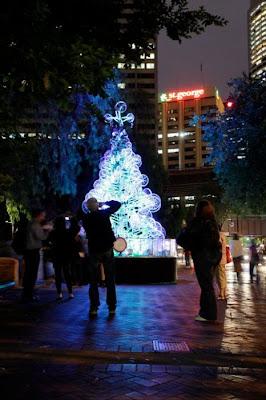 Árvore de Natal feita com 100 bicicletas 14
