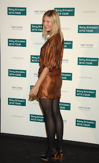 celebrity hosiery maria sharapova