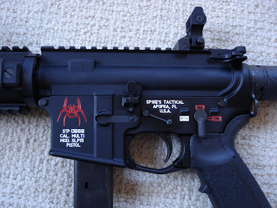 The Michael Bane Blog Spikes Tactical 9mm Ar 15 Pistol