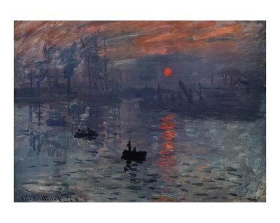 Impressionism Monet Sunrise GRACIA GALIAS&#...