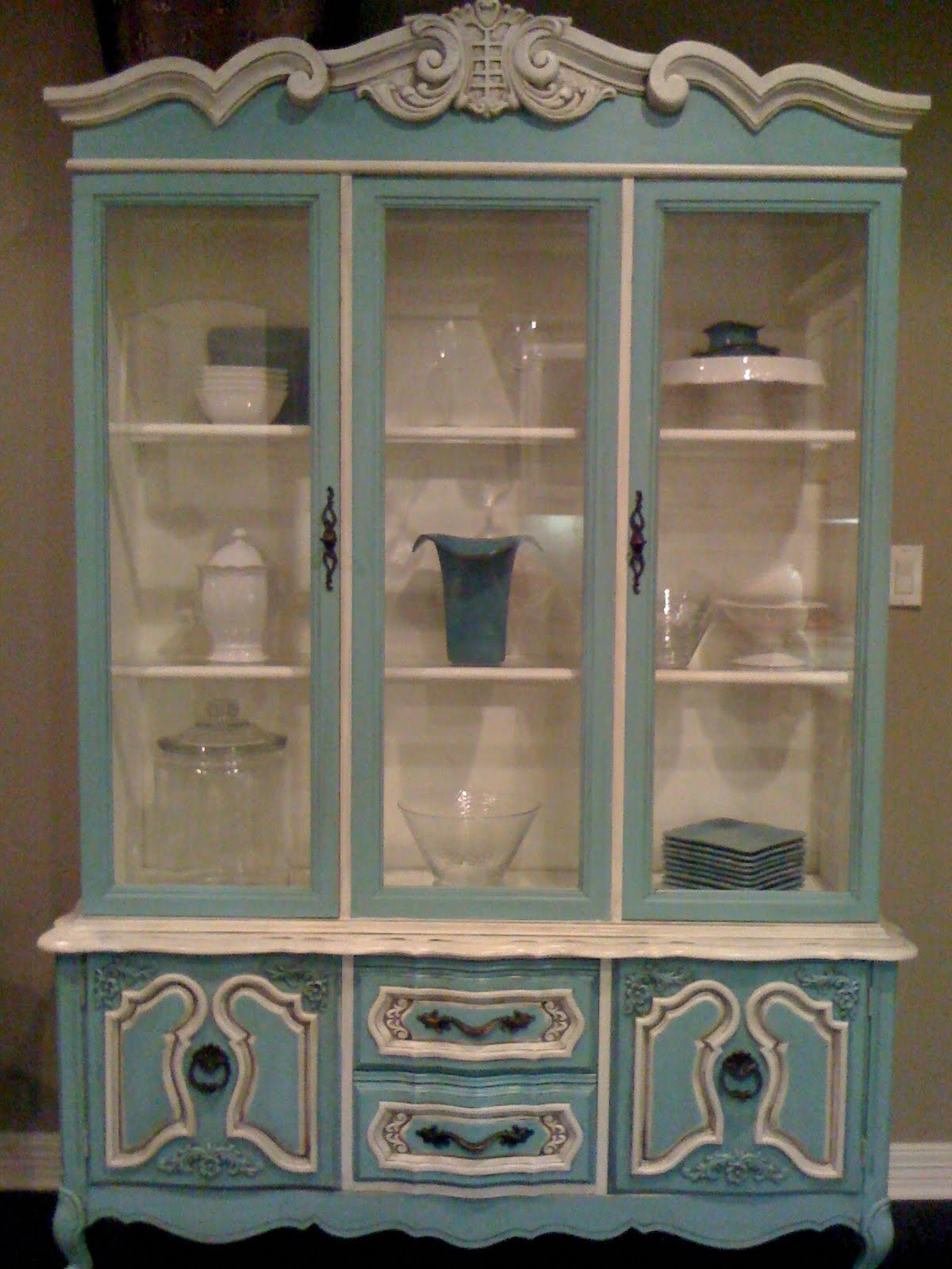 Lateda designs hand painted furniture transformation - Hand painted furniture ideas ...