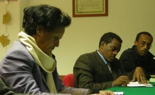 la delegazione di Massawa nella sede ISCOS Marche