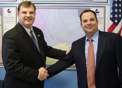 Democratic Blog News: Collin Co  District Attorney Candidate De La