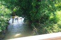 Río Piles al inicio de la ruta