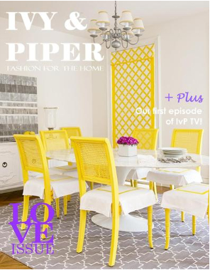 Ivy Piper Magazine Feature On Melissa Hawks Of The Well Appointed House The Well Appointed
