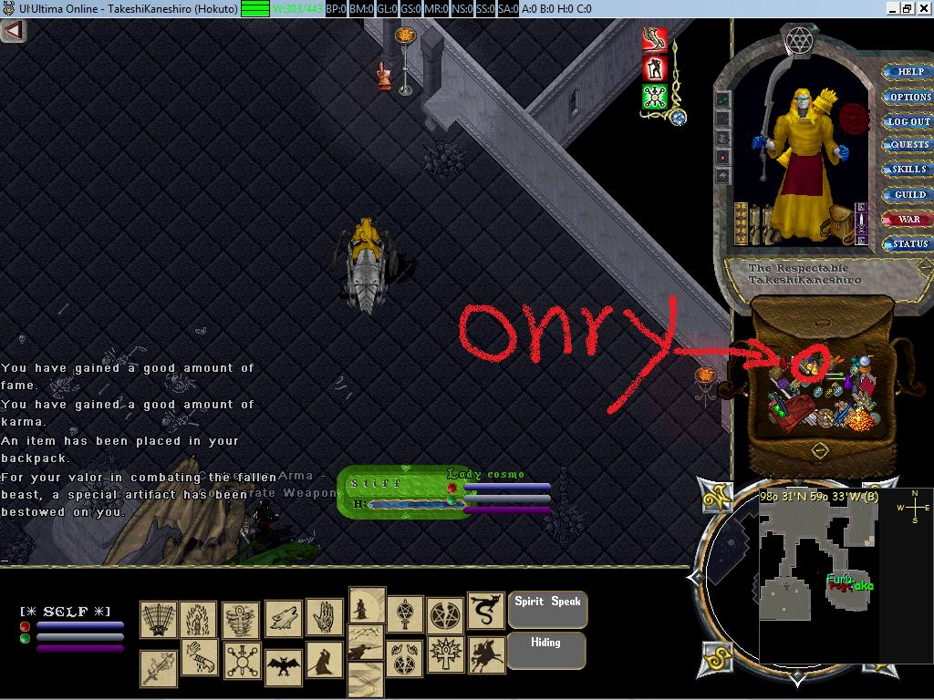 Tank mage uo for Uo forever templates