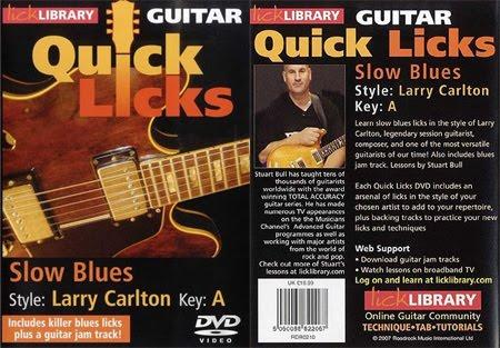 Con Alma de Blues: Lick Library: Quick Licks For Guitar