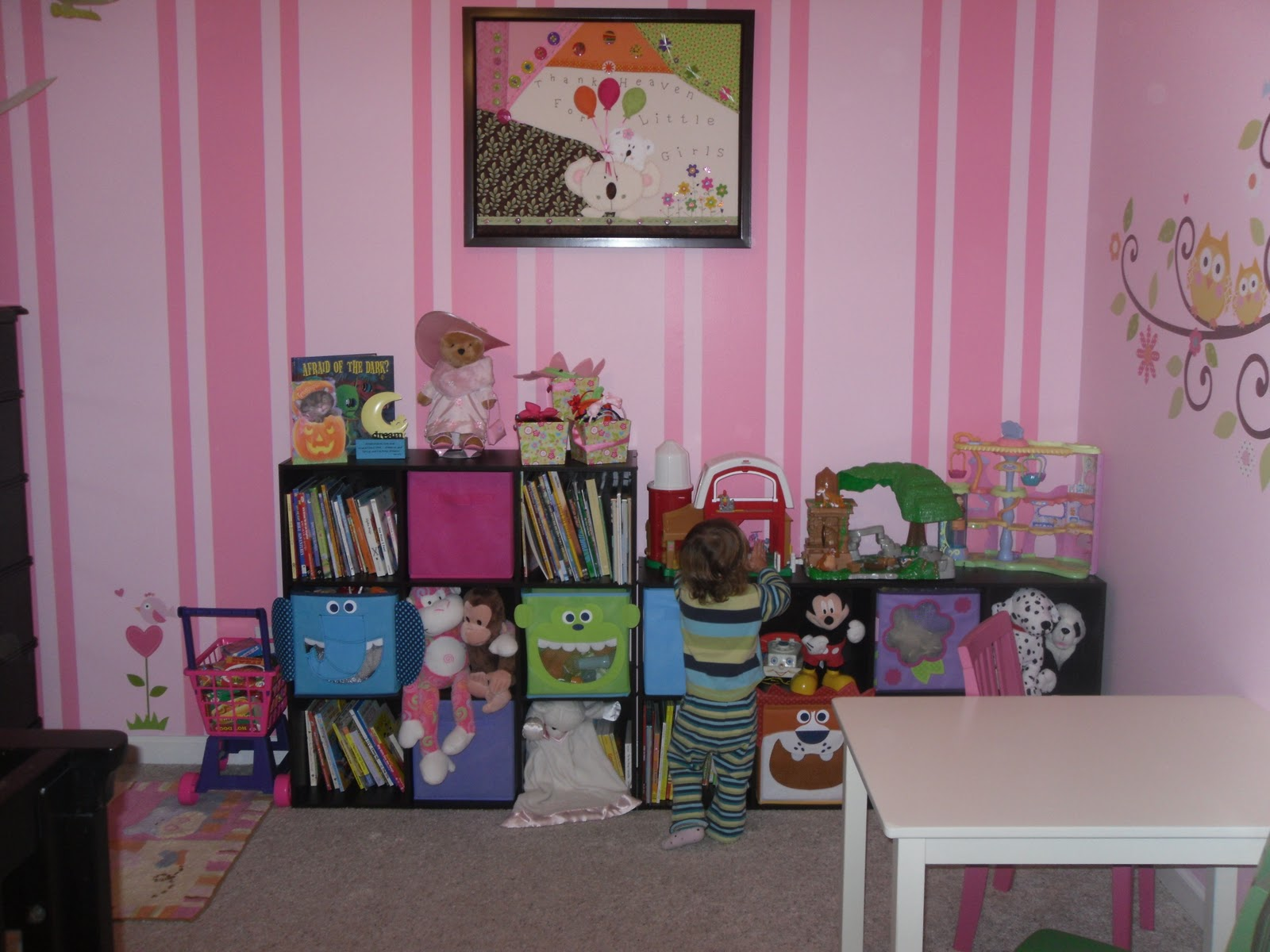 Home Is Where The Heart Is Big Girl Room