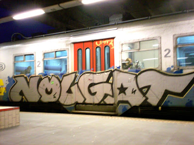 Nougat graffiti art