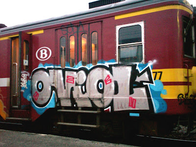 Oviol graffiti