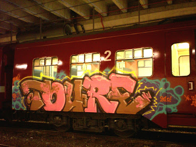 TOURE graffiti