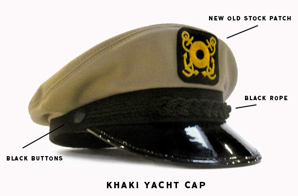Real Classic Yacht Boat Skipper Hats Caps Chapeaus. Not The Cheap Crap!  3b2afd26b8a
