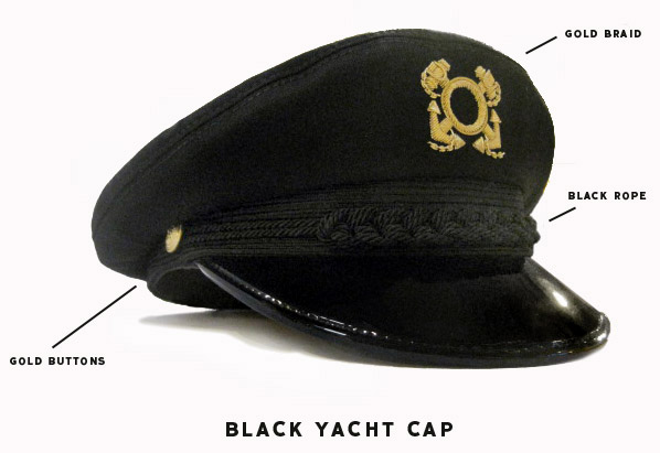 ... This is the original hat we found at Lancaster. Its in navy blue. With  Gold Braiding 42efce2da4d