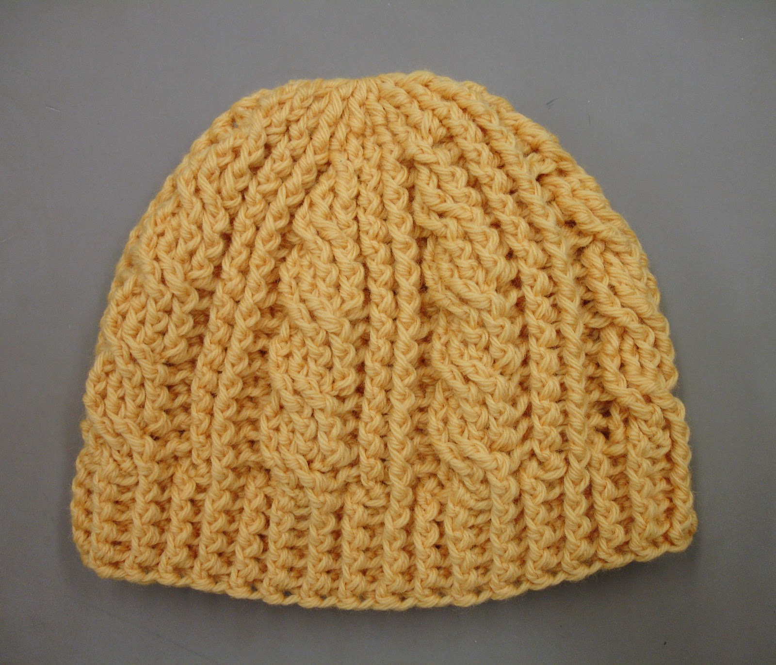 field wonderful  Goldenrod Cable Hat fbc0b1829a1d