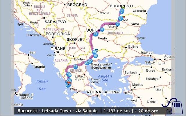Harta Meteora Grecia Harta