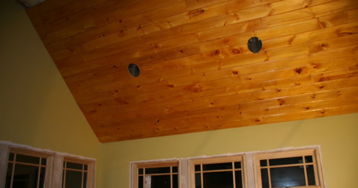 The Creek House Renovation Adventure Pine Ceilings And