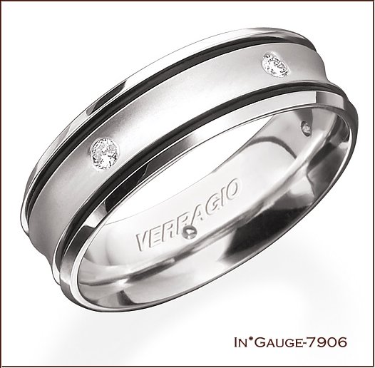 For The Purists Verragio Still Offers A Traditional Look With Vw 5006 Which Features Clic Unadorned Band Sand Blasted To Create Rougher