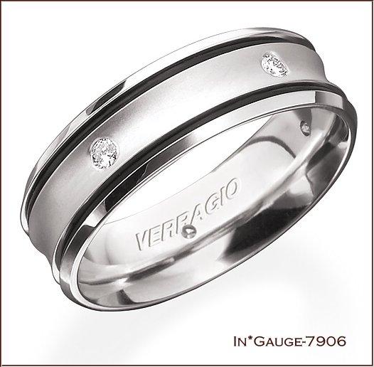 Verragio Mens Wedding Bands
