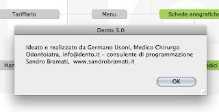 Verificare la propria versione di DentO 1 - gestionale dentista