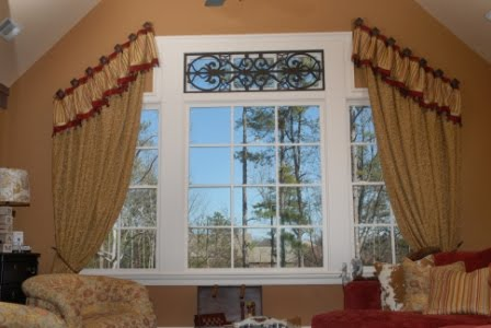 Window treatments - vaulted - Kenna on Pinterest ...