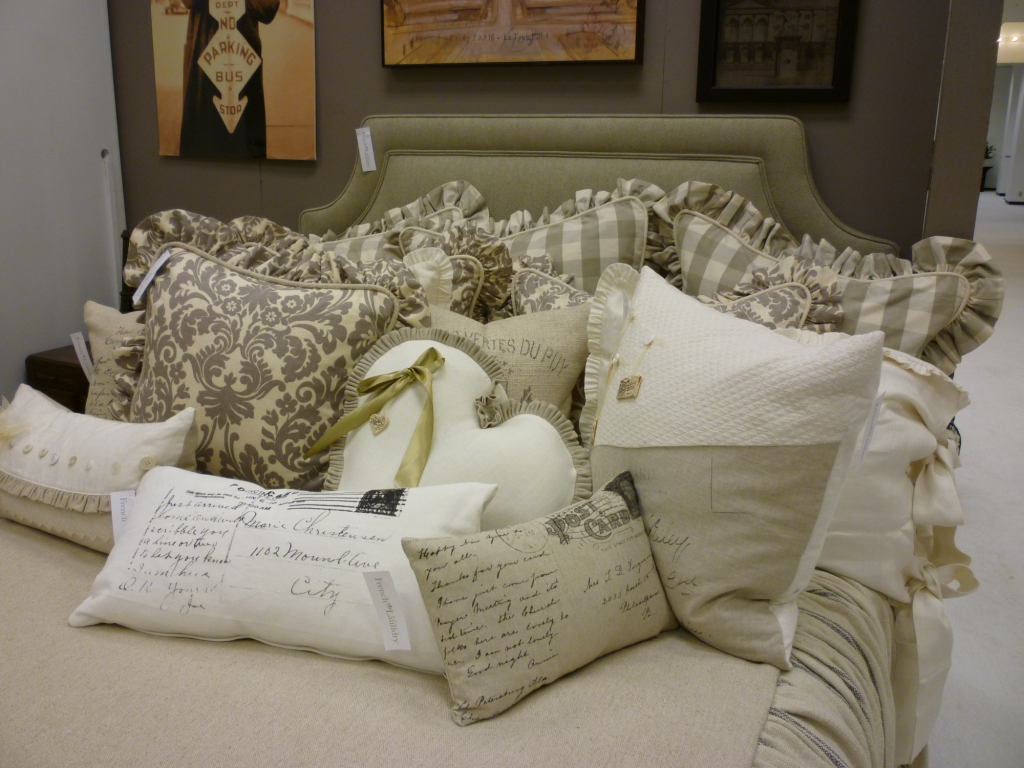 Youngblood Interiors Custom Bedding French Laundry At