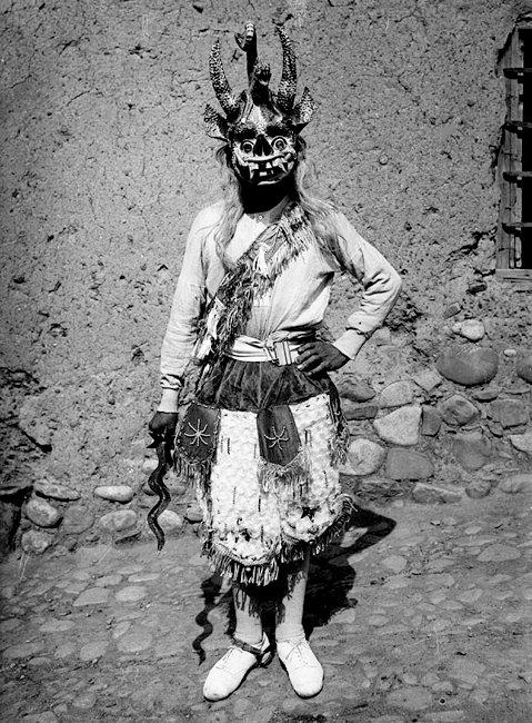 Diablo de Puno - Martin Chambi