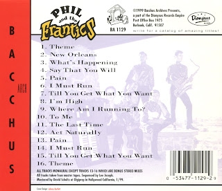 Power Pop Lovers Phil And The Frantics