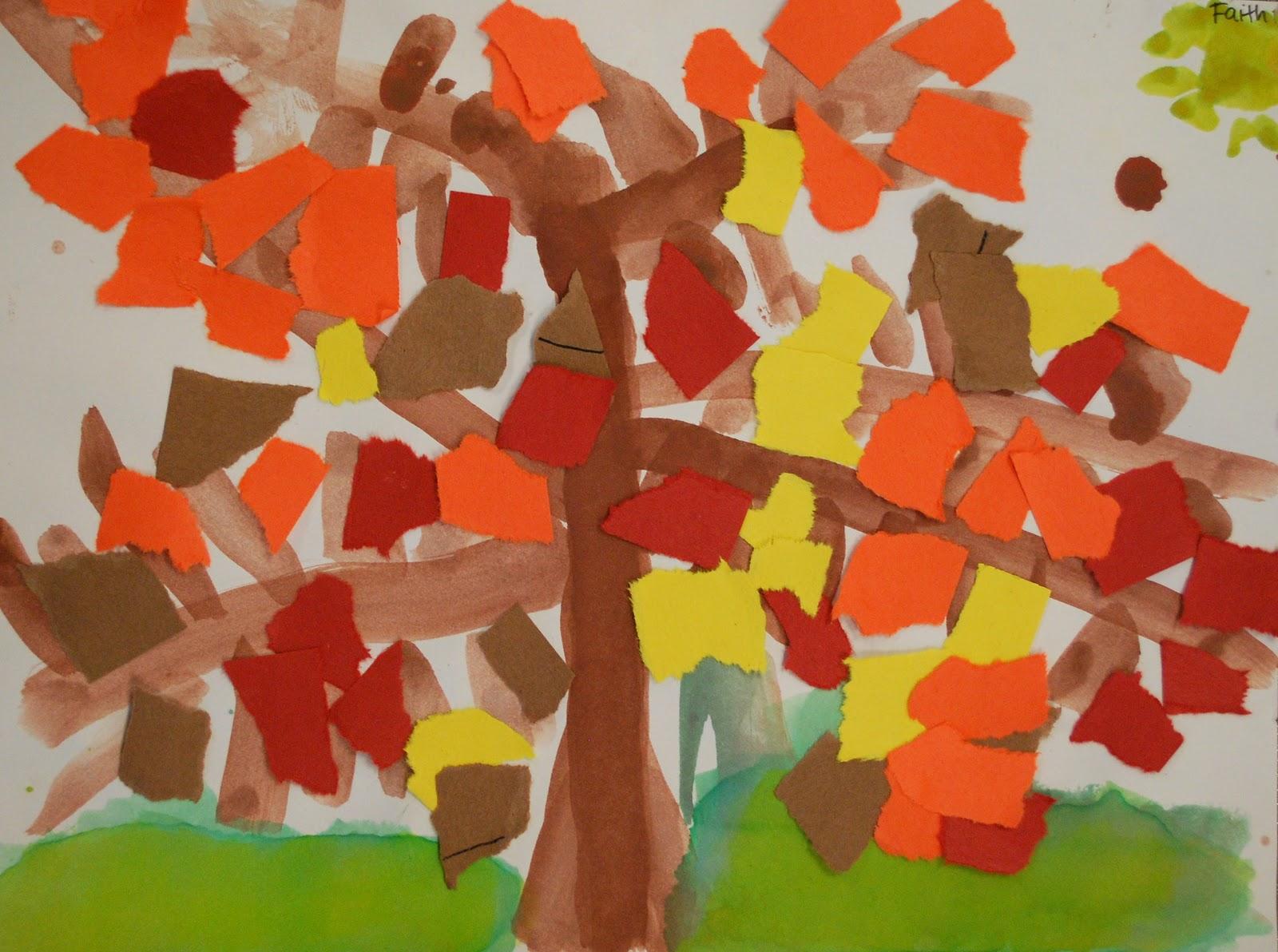Adventures Of An Art Teacher Kindergarten Fall Trees
