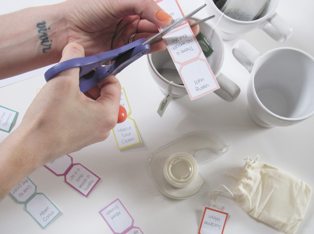 tea tag label templates