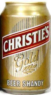 Christies Gold Beer Shandy