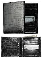 Portefeuille en alligator proposé par Ralph Lauren (1500$).