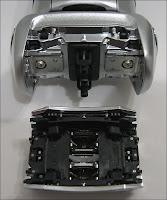 Face intérieure de la tête du rasoir Braun 720. Document T.Lombry.