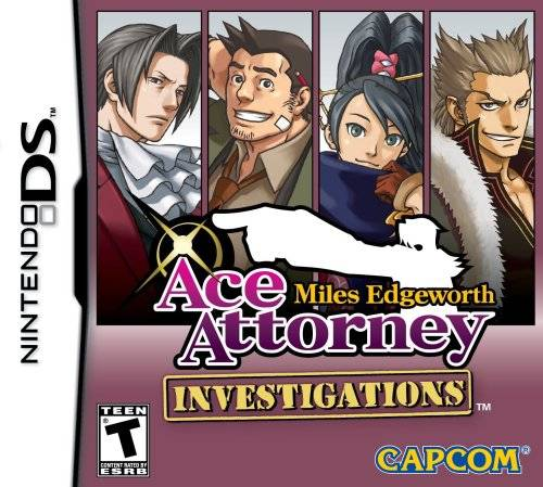 Shadowsnake123 Ace Attorney Investigations Miles Edgeworth Review