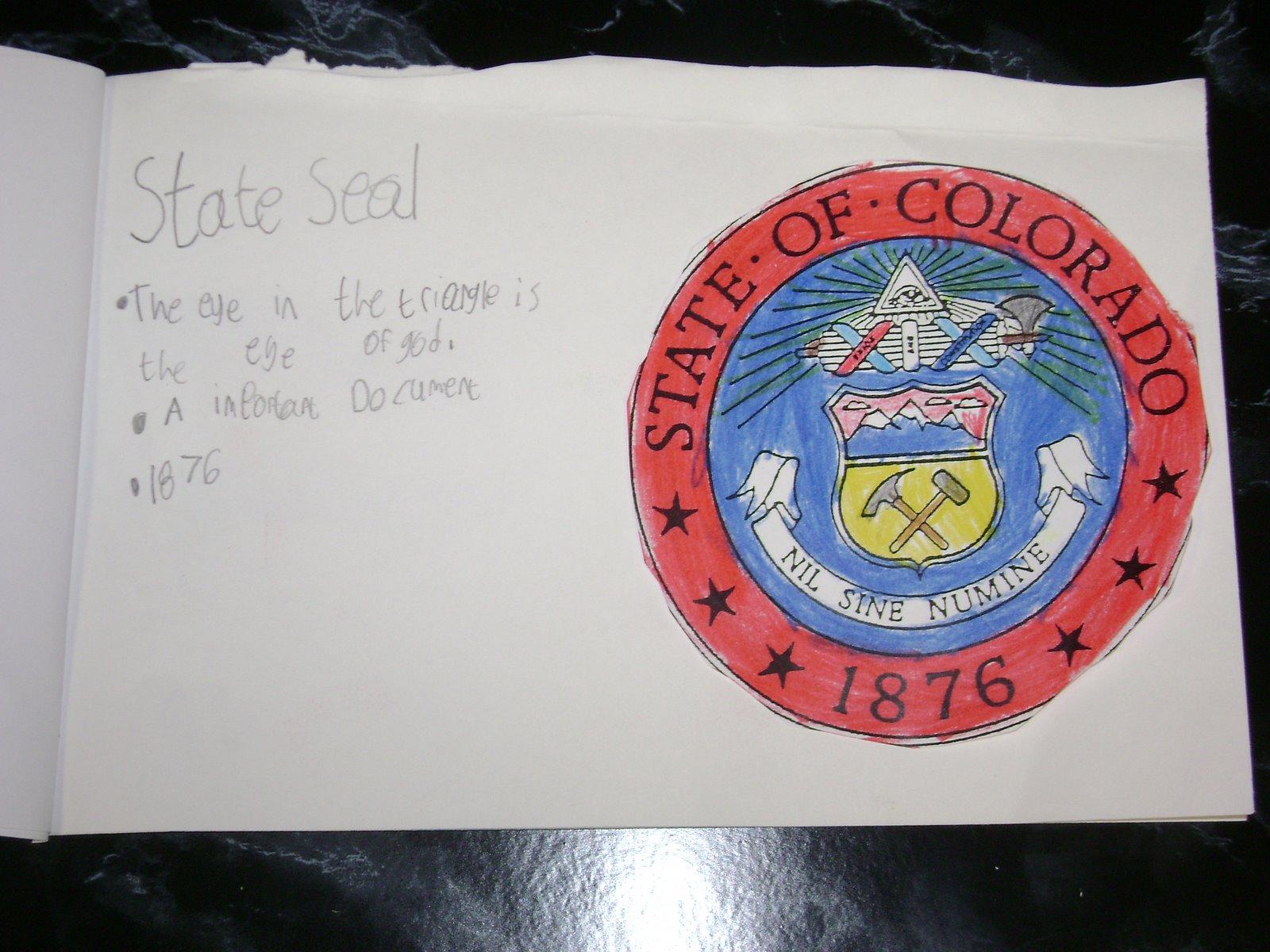 Colorado State Symbols Worksheets