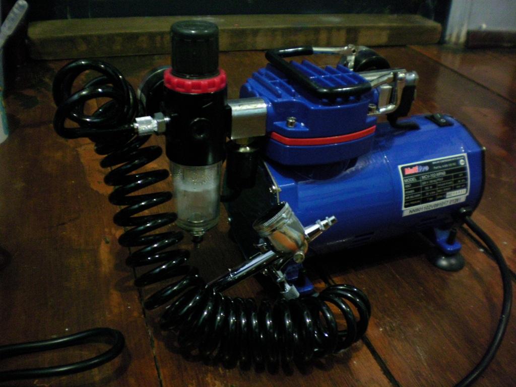 Jual Kompresor Mini Air Brush Compressor Prohex Multipro Mcv 102 Mpab Udara Set Mcv102