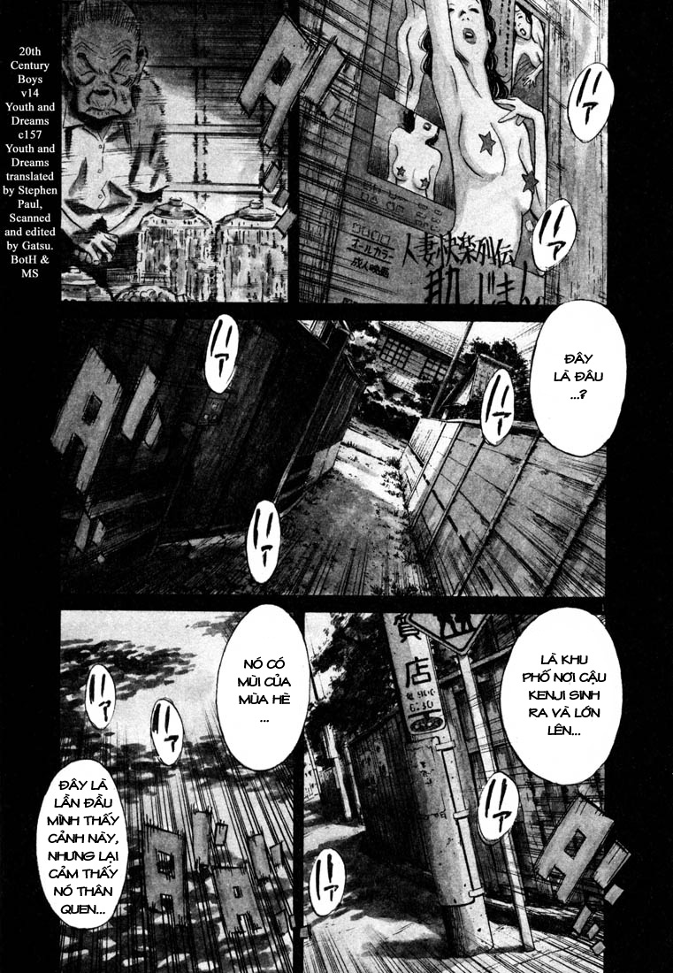 20th Century Boys chapter 157 trang 3