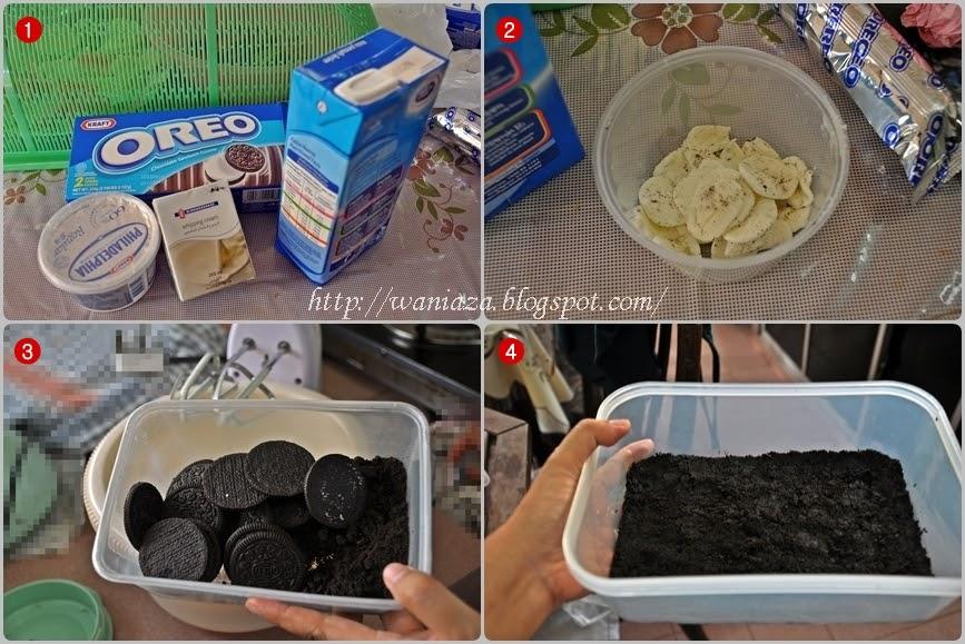 Cara Membuat Oreo Cheese Cake Tanpa Bakar