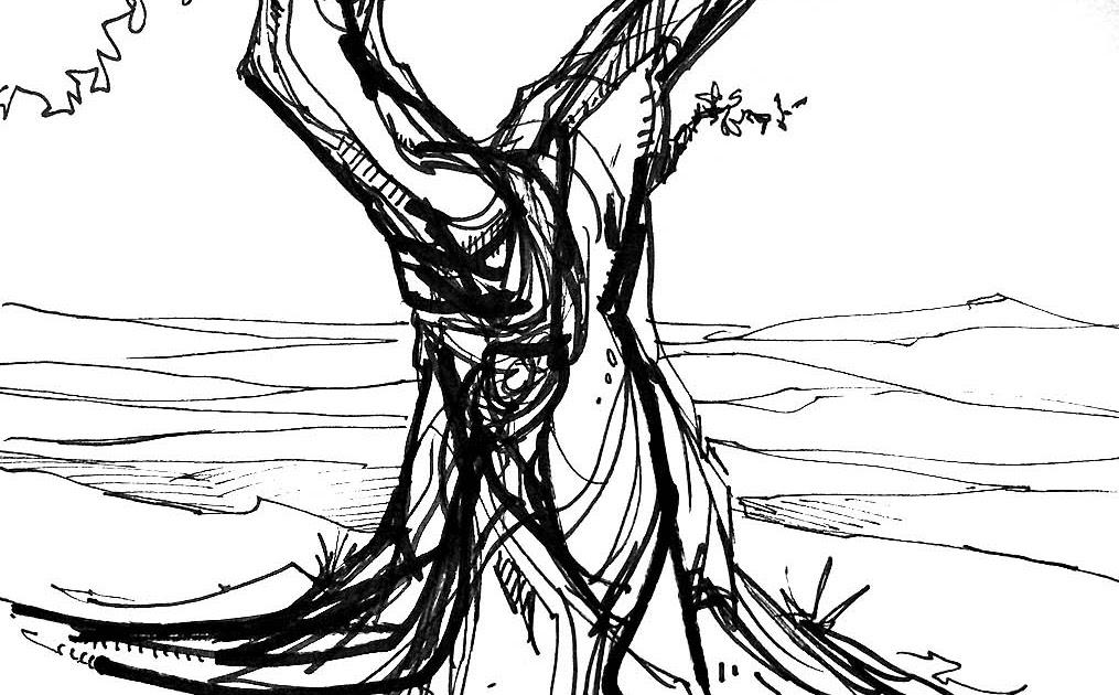 The Art of J.L. Giles: Holm Oak I (Encinas)